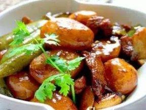 美味素食酱焖土豆
